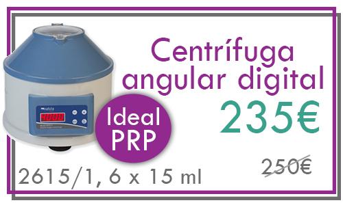 centrifuga angular para PRP