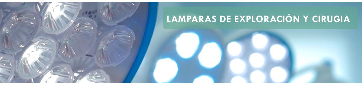 Lámparas de exploración y cirugía
