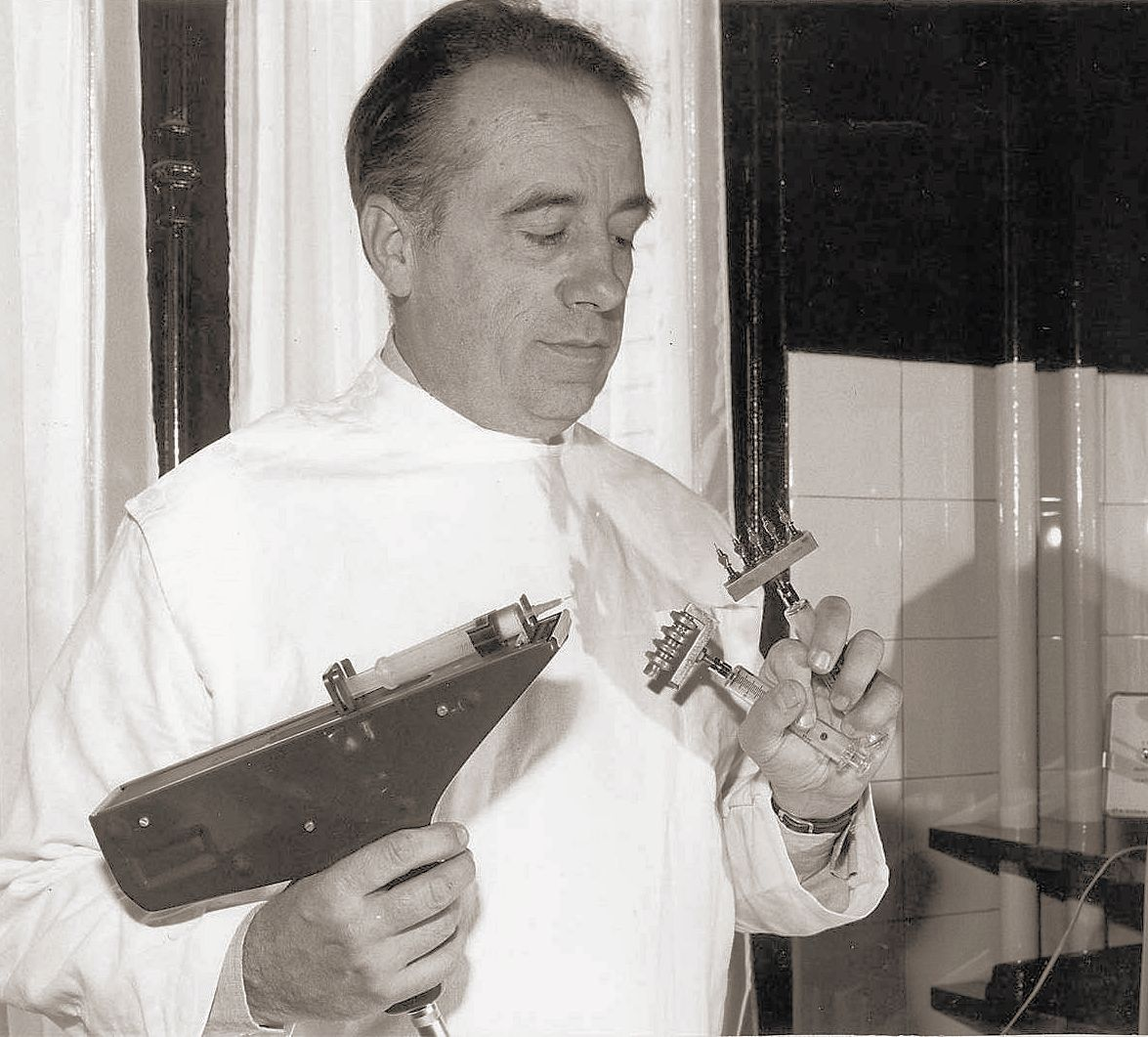 Michel Pistor, inventor de la mesoterapia
