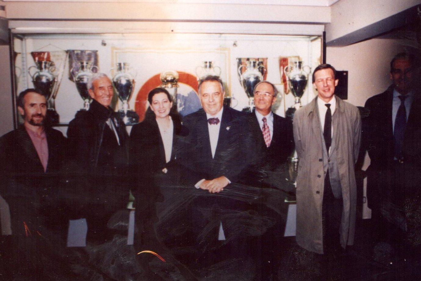 Michel Pistor, inventor de la mesoterapia en un congreso