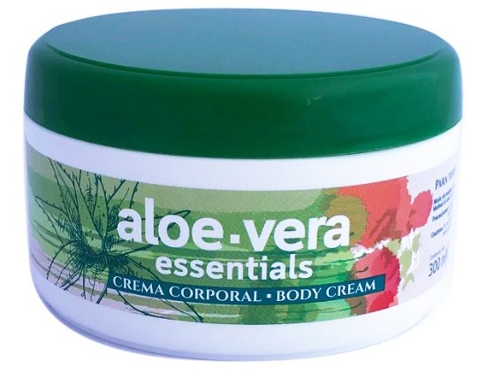 Crema Aloe Vera Essentials, tarro de 300 ml