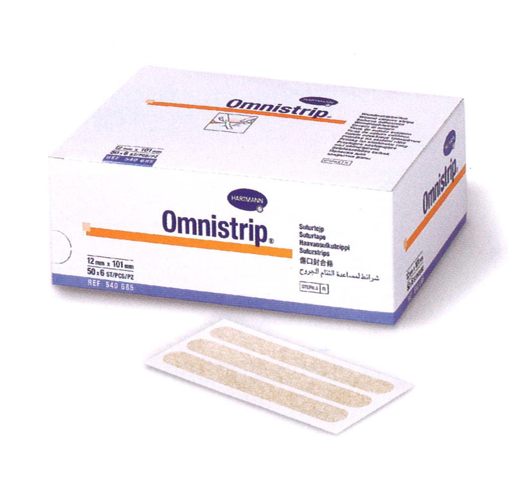Omnistrip tira de sutura cut nea 6 x 38 mm 50 sobres x 6 for Material sanitario online