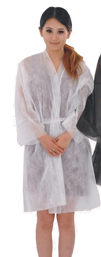 Bata kimono polipropileno, 30 gr, con cintas y bolsillo. Color ...