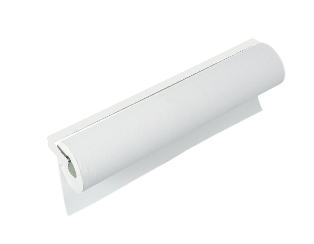 Portarrollos atornillado blanco o cromado portarrollos for Material sanitario online