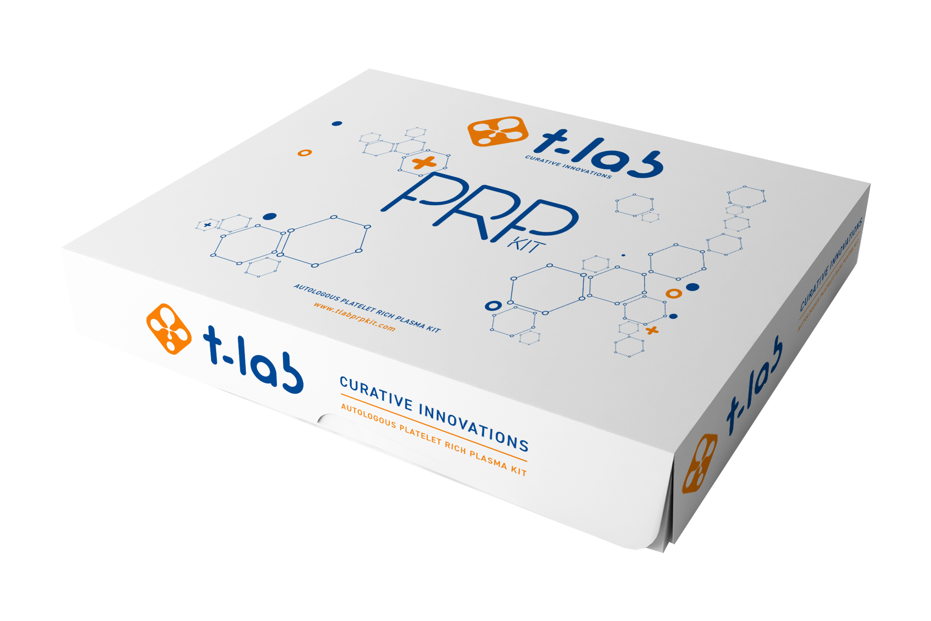 KIT DE PRP T-LAB. 20 unidades.