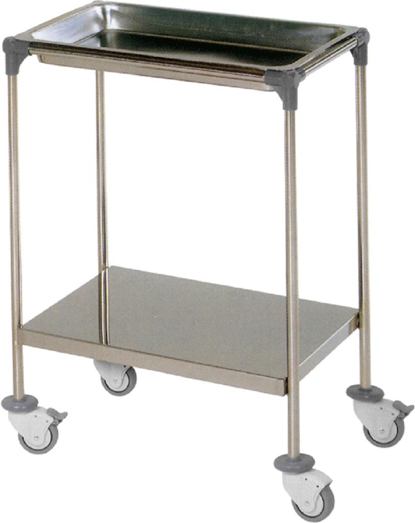 Mesa auxiliar bandeja superior y estante inferior mesas - Mesa auxiliar bandeja ...