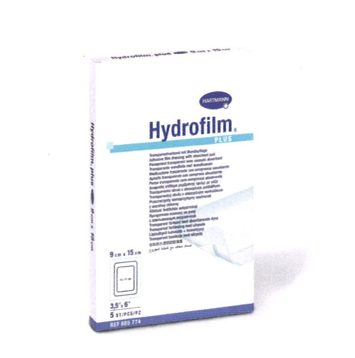 Ap sito transparente hydrofilm plus 9 x 10 cm caja de 50 for Material sanitario online