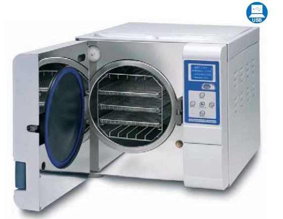 Autoclave de vapor para esterilizaci n autester st dry pv for Material sanitario online