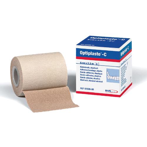 Optiplaste C. Venda elástica adhesiva de algodón 100%. 8