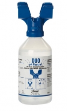 Botella lavaojos pH Neutral de 500 ml DUO