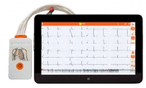 Electrocardiógrafo TouchECG HD+ Tablet Windows 10"