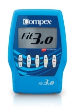 Compex Gama Fitness 3.0 4 canales, 20 programas. Con cables.