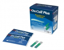 Tiras reactivas glucosa On Call Plus. Caja de 25 tiras
